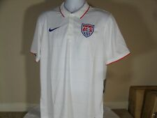 Nike Mens US National Soccer Team 2014/2015 World Cup Home Jersey White USA $90