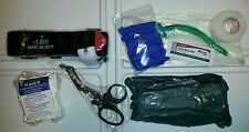 Complete Medical IFAK Trauma Supplies Refill Kit w Sealed Red Tip CAT Tourniquet