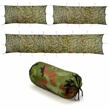 3-Size Camo Net Netting Tent Camouflage Large Woodland Camping Hunting Shelter