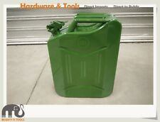 20L Litre Heavy Duty Metal Steel Jerry Can Fuel Container Oil Tank Color Option