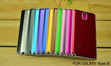 Aluminum Metal Battery Back Door Cover Housing Case For Samsung Galaxy Note 3