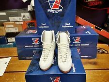 NEW NIB Riedell 355 Silver Star White Figure Skate Boots Multiple sizes