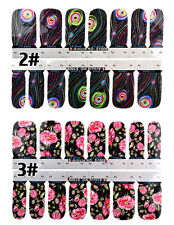 Chic Flower Nail Art Water Decals Transfer Stickers Splendid Water Decals