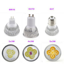 Ultra Bright MR16 E27 GU10 CREE LED Spot Lights Lamp Bulb 9W 12W 15W Warm Cool