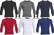 Under Armour Long Sleeve HeatGear Compression Shirt - Mens UA Skin Tight Shirts