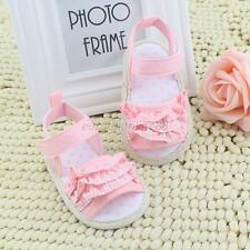 Lovely Toddler Baby Girl Sandals Summer Soft Sole Velcro Shoes Prewalker 0-18M