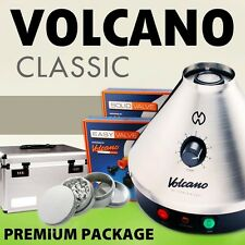 NEW Volcano Classic w/ Easy or Solid Valve + CARRY CASE + 4 pc Grinder