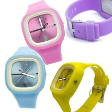 SNEAKERS 005 mens women watch colorful summer gum square new