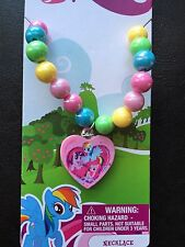 My Little Pony Rainbow Dash Birthday Party Favor Gift Pendant Necklace NWT