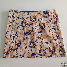 J. Crew Factory Printed Cotton Sateen Mini Skirt NWT Size: 10