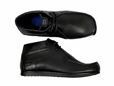 MENS LEATHER BOOTS NICHOLAS DEAKINS OFFENDER IN BLACK COLOUR ALL SIZES 6 TO 12