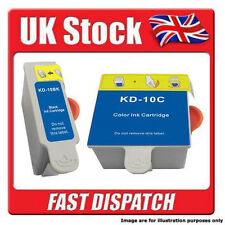 BLACK + TRI COLOUR kodak 10 Ink cartridges For kodak Printers:......