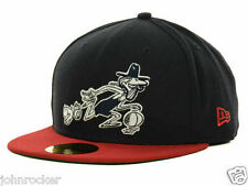 KENTUCKY COLONELS ABA AUTHENTIC NEW ERA 59FIFTY FITTED BLACK/RED HAT/CAP NWT