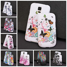 Soft Silicone Rubber Gel Case Cover For Samsung Galaxy Phone + Screen Protector