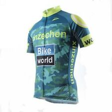 Bike Cycling Bicycle Jersey Tops Wear Mens Outdoor XINZECHEN Team Short Sleeve