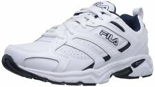 Fila Mens Capture  Comfort Running Walking Shoes 4E Extra Wide [ White ]
