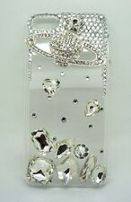 S*ACT luxury diamond crystal bling clear hard case cover for apple Iphone 5C -