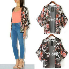 Women Jacket Coat Loose Kimono Jacket Women Chiffon Cardigan Coat Shawl Outwear