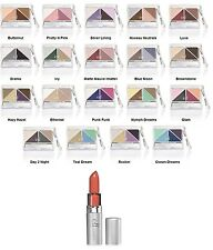 e.l.f. Brightening Eye Color Quad PICK YOUR COLOR w/ Captivating Lipstick