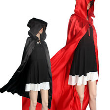Halloween Hooded Cloak Wicca Robe Medieval Cape Shawl Halloween Party Cosplay