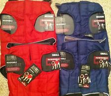 Animal Planet Reversible Dog Vest Size Small or Medium Red or Blue Coat Jacket
