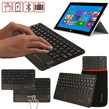 Slim Wireless Bluetooth UK Keyboard with Touchpad for Microsoft Surface 3 Pro 3