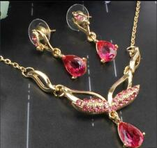 2pcs mask design 18k gold plated jewelry sets wedding gift TL0636-639