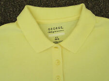 George Boys polo shirt small medium large XL yellow red green blue orange  NEW