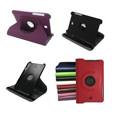 For ASUS MeMO Pad HD 7 ME173X ME173 360° Rotating PU Leather Case Cover Film Pen