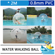 2M Diameter PVC Water Walking Ball Roll Ball Inflatable Zorb Ball Play on Water