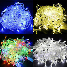 Colorful 50M 500 LED Lights Decorative Christmas Party Festival Twinkle String