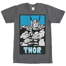 Marvel Mighty Thor Ready for Battle Mens Graphic T Shirt