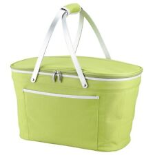Picnic at Ascot Collapsible Insulated Polycanvas Empty Picnic Basket