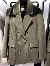 ZARA WOOL COAT LIGHT KHAKI XS-XL Ref. 7828/216