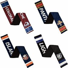 NHL Officially Licensed Team Jersey Scarf with Zip Pocket - Pick Your Team