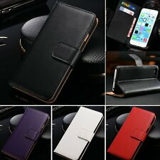 Flip Wallet Card Holder Leather Pouch Stand Case Cover Skin for iPhone 6 Plus 5s