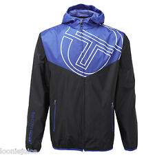 Mens Sergio Tacchini Mens Payton Hooded Jacket Navy/Royal Blue