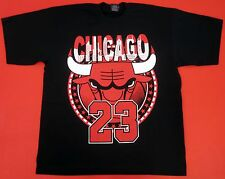 BULLS T-shirt Chicago Basketball Air Jordan MJ 23 Tee Mens Adult M-4XL Black New