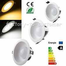 4W 7W 12W Bright LED Recessed Ceiling Cabinet Down Light Bulb Lamp + Driver DL