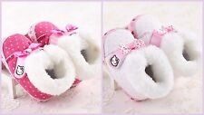 Hello Kitty Baby Girls Cute Soft Bottom Boots Booties (3-6M, 6-12M, 12-18M)