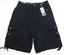Mens Military Army Combat Cargo Shorts Pants Black Adult sizes NWT MSRP $69
