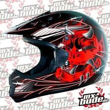 THH Motocross Kids Helmet 2014 TX-10 ARROW Black-Red Motocross Enduro Cross