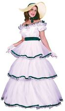 Adult Southern Belle Scarlett O'hara Costume Dress Ohara - S/M 2-8, M/L 10-14 -