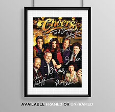 CHEERS CAST SIGNED AUTOGRAPH PRINT POSTER PHOTO TV SHOW DVD SERIES SEASON