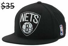 Brooklyn Nets Men's Mitchell & Ness NBA Basketball Fitted Hat Cap