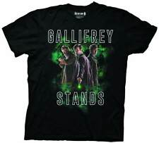 Doctor Who Gallifrey Stands Mens Black T-Shirt