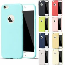 Ultra Thin Matte Soft Rubber Silicone For Apple iPhone 6 6s Plus Case Cover Skin