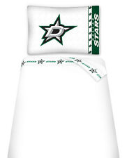 DALLAS STARS SHEET SET, TOSS PILLOW & PILLOW SHAM