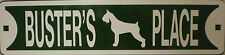 Affenpinscher Dog Custom Personalized Street Sign Pet Name Great Gift Idea!
