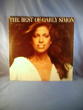 Carly Simon THE BEST OF CARLY SIMON LP SLEEVE ~ VG+ COLLECTIBLE You're So Vain